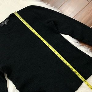 rag & bone Sweaters - Rag & Bone Black Long Sleeve Wool Blend Sweater